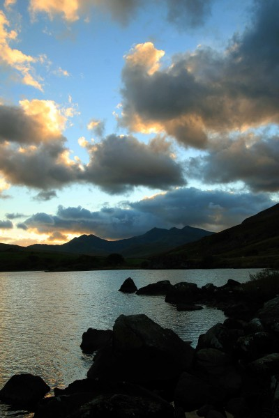 Llyn Mymbyr and the Snowdon Horseshoe
