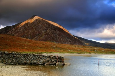 Pen yr Ole Wen from Cwm Idwal in Snowdonia