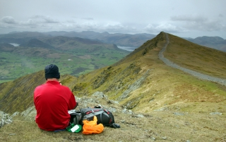 Summit of Blencathra - Lake District