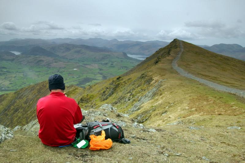 Summit of Blencathra - Lake District