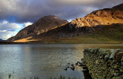 Tryfan from Cwm Idwal in Snowdonia 2