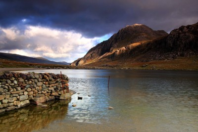 Tryfan from Cwm Idwal in Snowdonia