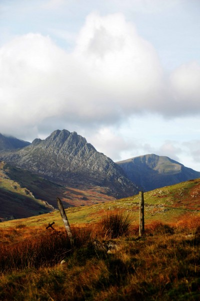 Tryfan from the Carneddau (Carnedds) 2