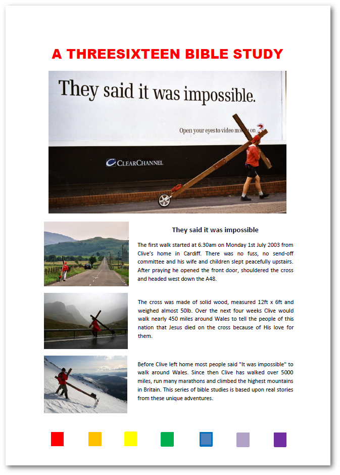 They said it was impossible - study cover for bible study, digital bible study, mobile bible study, multimedia bible study