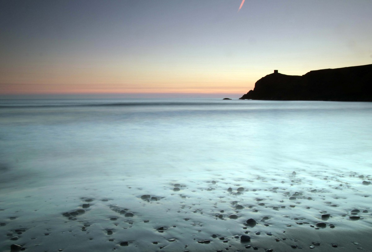 Pembrokeshire - Abereiddy Beach - Blue Lagoon - early morning light just before sunrise
