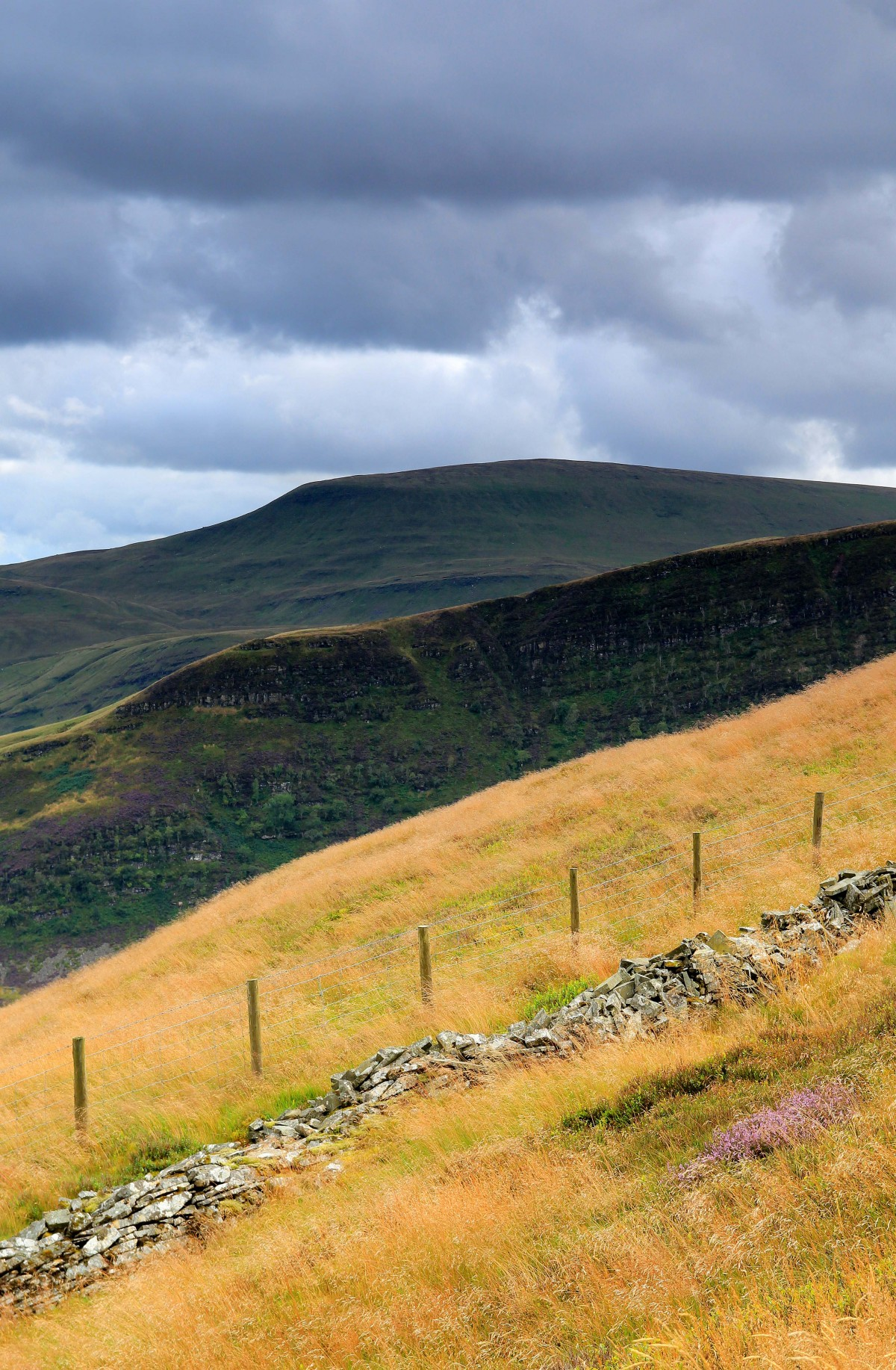 Pen y Fan from above Craig Cerrig Gleisiad - Photography Lathan Ball for Mountain Adventures and Pilgrim Walks